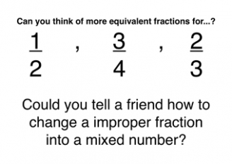 Fractions Display Posters