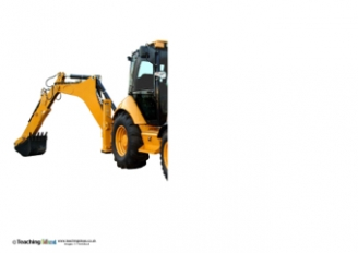 Finish the Picture - Excavator