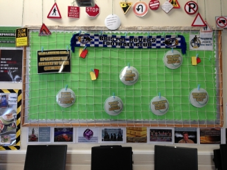 Learning Goals Display