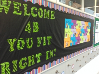 Welcome Class! Display