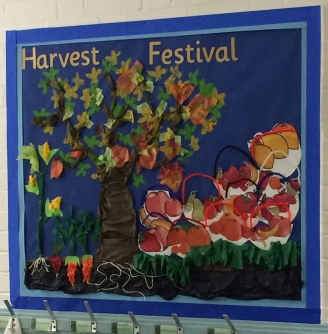 Harvest Festival Display