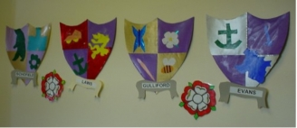 Class Coat of Arms Display