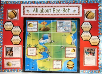 All About Bee-Bot Display