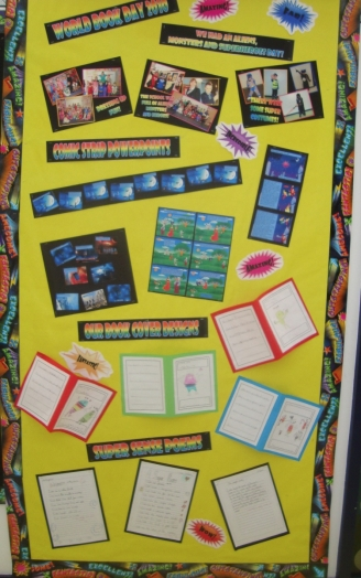 World Book Day Storyboards Display