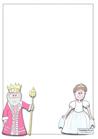 King and Queen Template