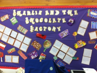 Charlie and the Chocolate Factory Display
