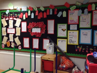 Exciting Writing Display