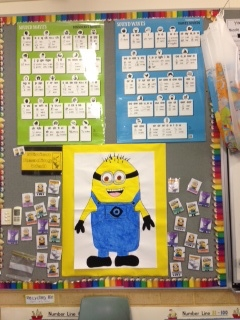 Minion Reading Wall
