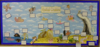 Mystical Creatures Display