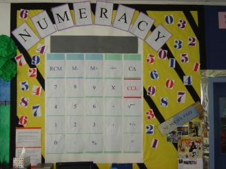 Number Problems Display