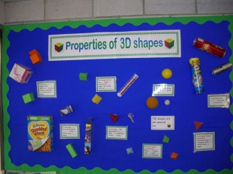 Properties of 3D Shapes Display