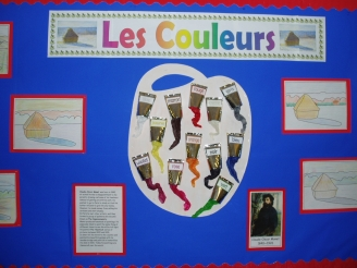 Les Couleurs Display