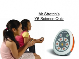 Mr. Stretch's Science Quiz