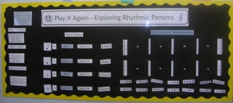 Rhythmic Patterns Display