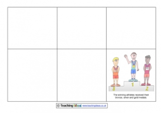 Complete the Olympic Storyboard