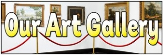 Our Art Gallery Banner