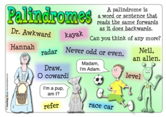 Palindromes Resources