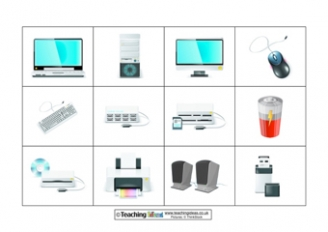 Parts of a Computer Resources