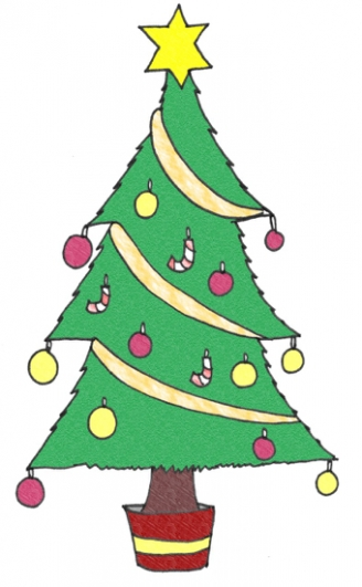 Christmas Tree Display Picture
