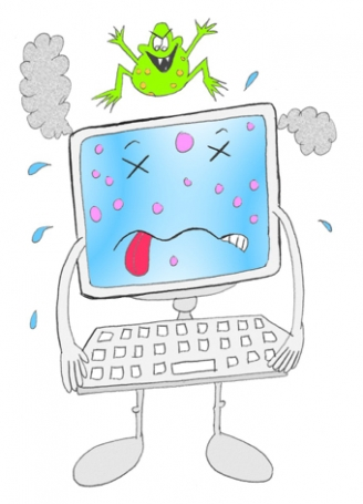 Computer Virus Display Picture