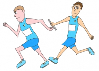 Relay Race Display Picture