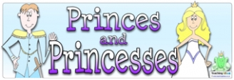 Princes and Princesses Banner