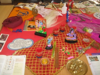 Religious Artefacts and Objects Display