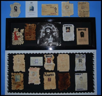 Wanted Poster Display
