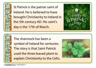 Republic of Ireland Fact Cards