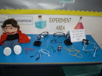 Experiment Area Display