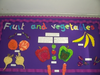 Fruit and Vegetables Display
