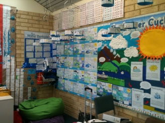 The Water Cycle Display