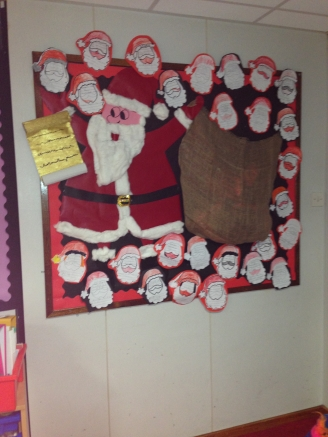 Letters to Santa Display