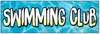 Swimming Club Banner
