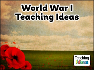 World War 1 Teaching Ideas