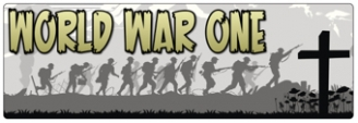 World War One Banner