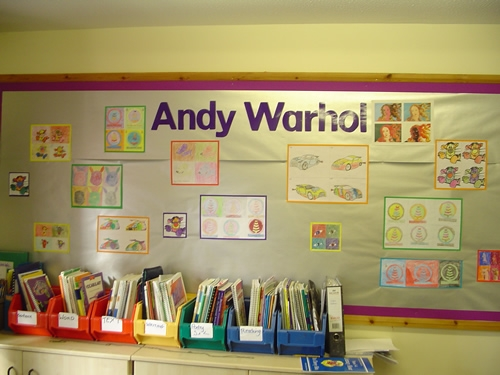 Enchanting Classroom Wall Display Ideas Gift Wall Art : andy warhol wall art - www.pureclipart.com