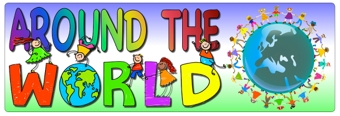 Around the World Banner
