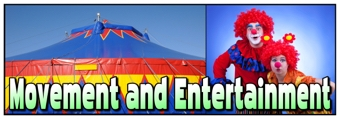 Movement and Entertainment Banner