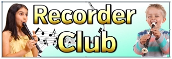 Recorder Club Banner