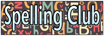 Spelling Club Banner