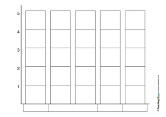 block graph templates teaching ideas