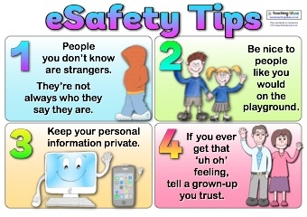 ESafety Tips Poster | Teaching Ideas