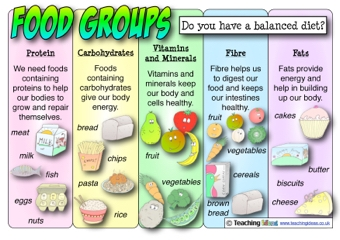 Food Groups Poster | Teaching Ideas