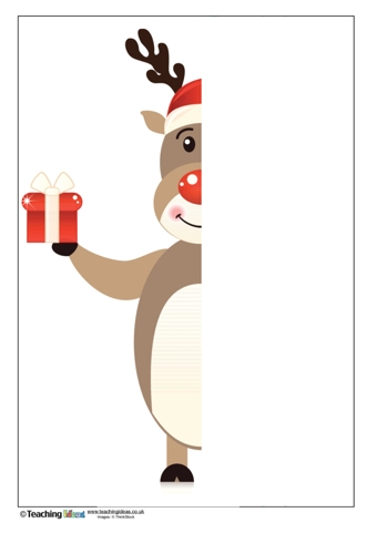 Finish the Picture - Rudolph