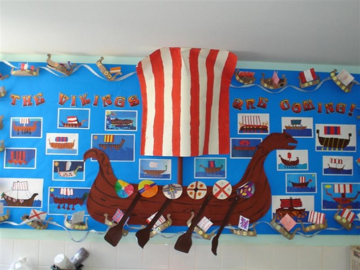 Outdoor Classroom Ideas Uk ~ The vikings are coming display teaching ideas