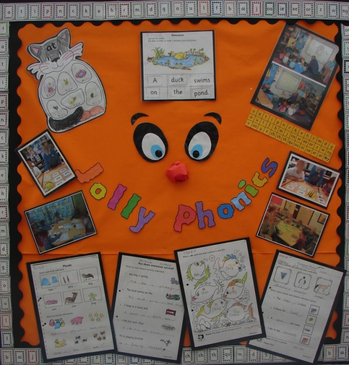 Jolly Phonics Display