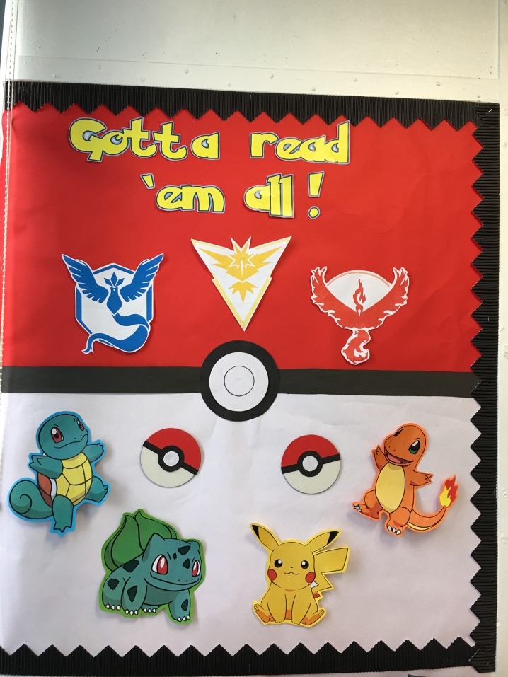 Pokemon Reading Area