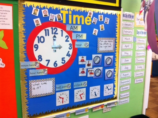 how to teach time to year 1