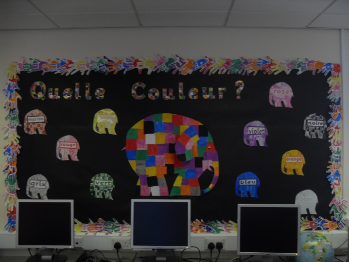 Quelle Couleur? Display